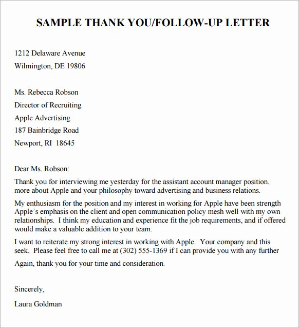 10 Sample Follow Up Email after Interview – Pdf Doc