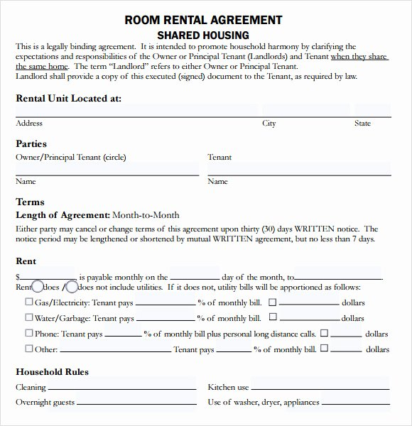 10 Sample House Lease Agreements