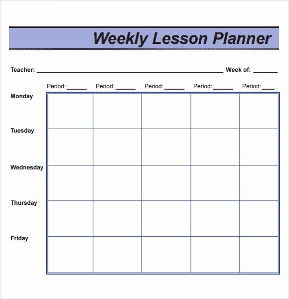 10 Sample Lesson Plans