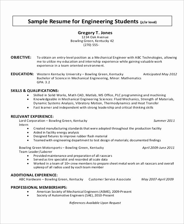 10 Sample Objectives for Resume