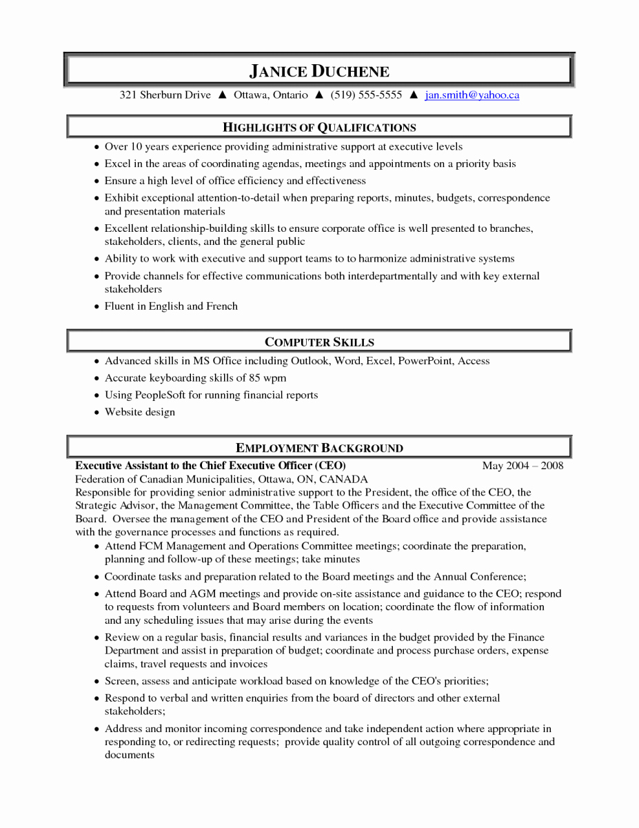10 Sample Resume for Medical Administrative assistant
