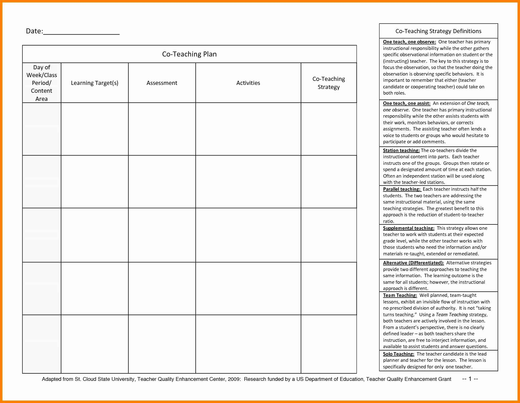 10 Teachers Daily Planner Template