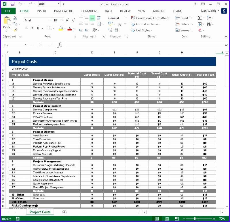 10 Test Plan Excel Template Exceltemplates Exceltemplates