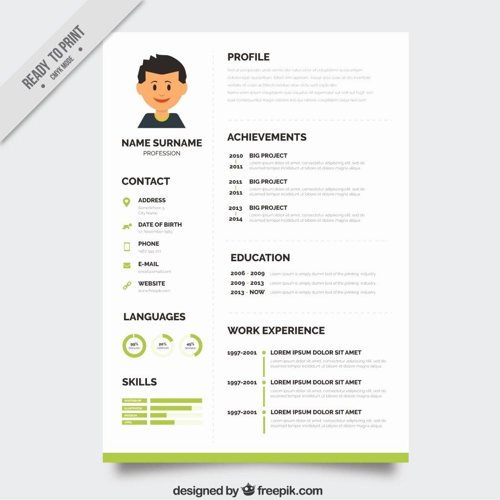 10 top Free Resume Templates Freepik Blog