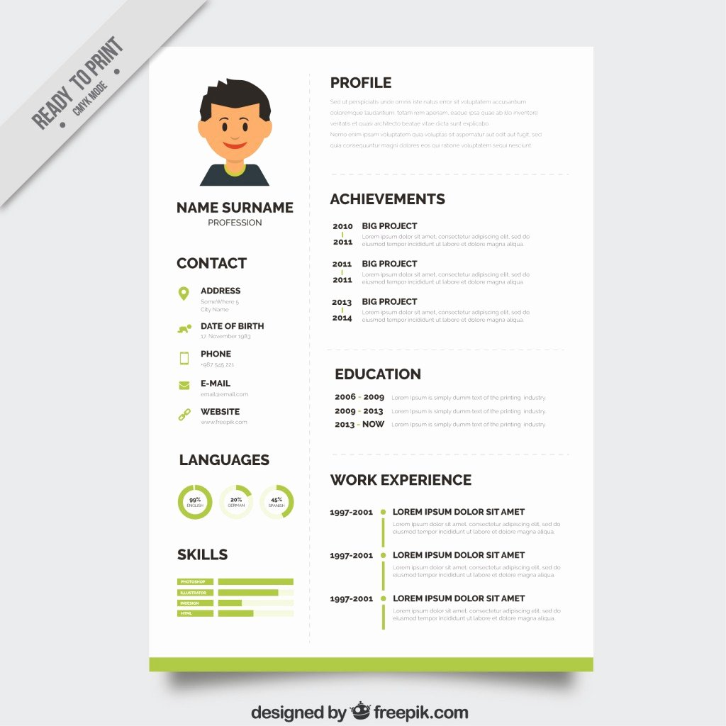 10 top Free Resume Templates Freepik Blog Freepik Blog