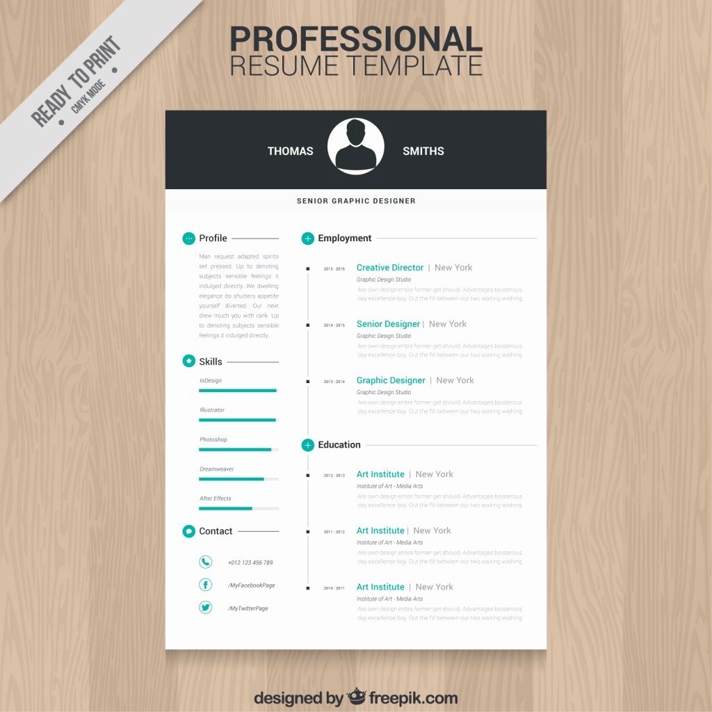 10 top Free Resume Templates Freepik Blog Freepik Blog