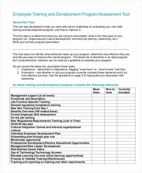 10 Training Program Examples & Samples Pdf