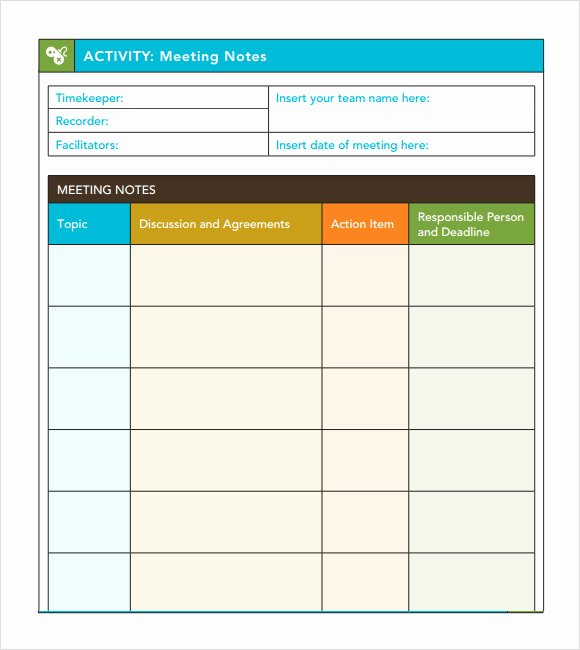 10 Useful Meeting Notes Templates to Download