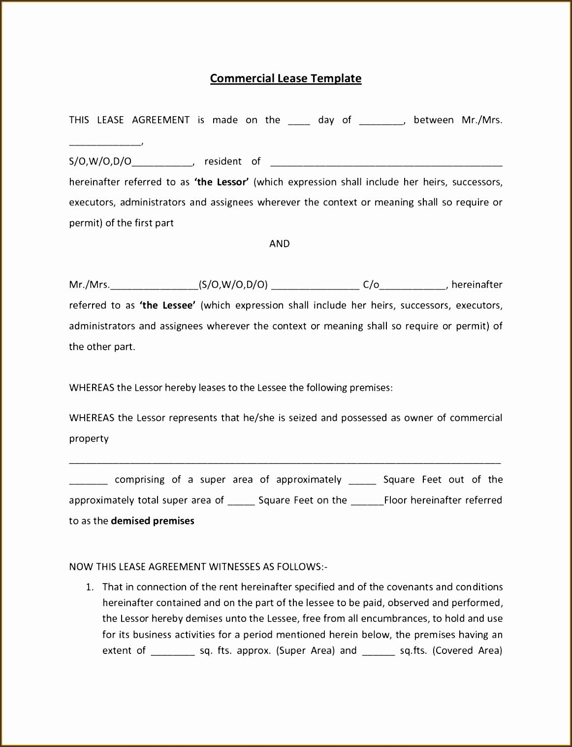 10 Vehicle Rental Agreement Template Sampletemplatess