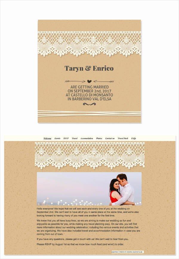 10 Wedding Email Invitation Design & Templates Psd Ai