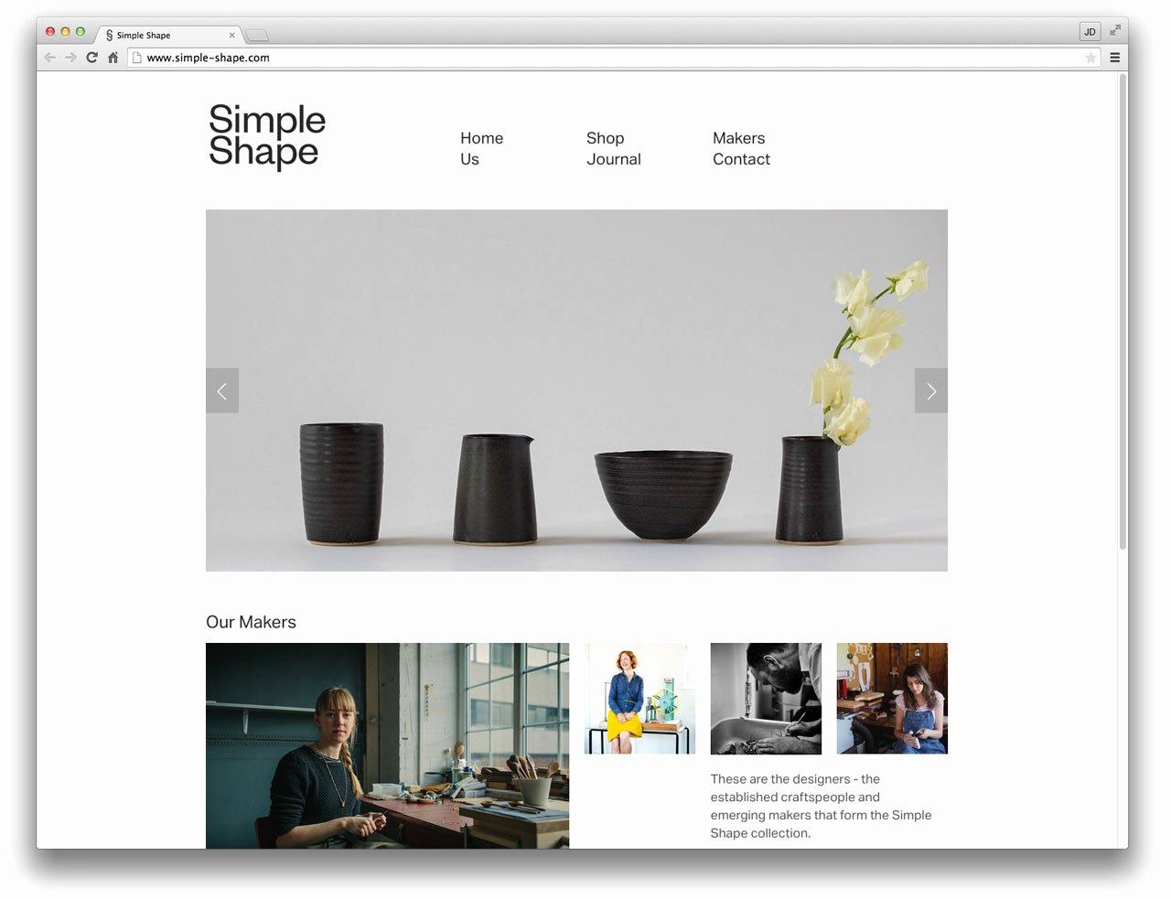 10 Well Designed Squarespace Merce Sites Design Milk