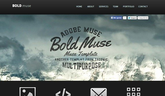 100 Best Adobe Muse Templates 2014 Edition