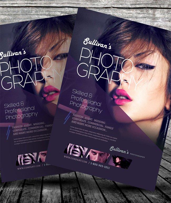 100 Fashion Graphy Flyer