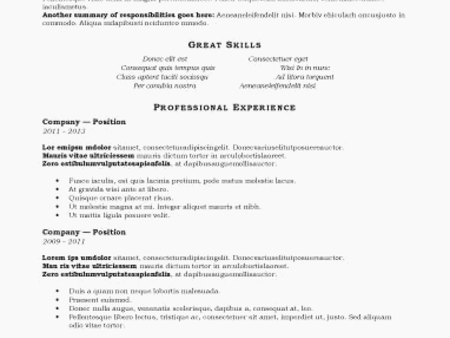 100 Free Resume Templates Download Resume Template Free