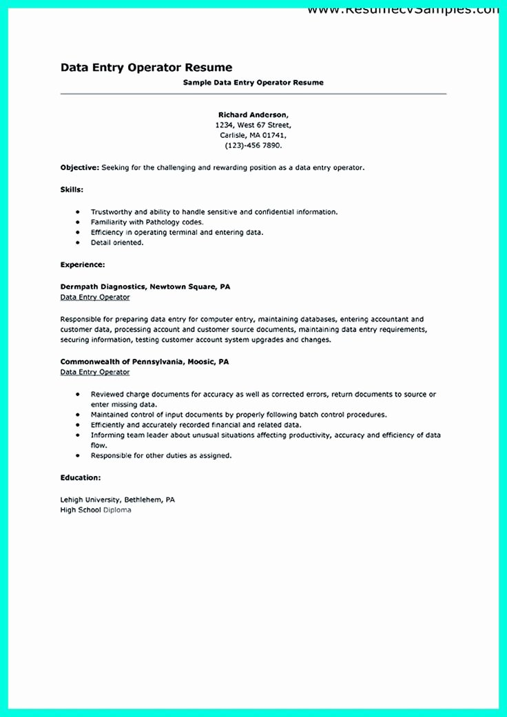 100 Ideas to Try About Resume Sample Template and format