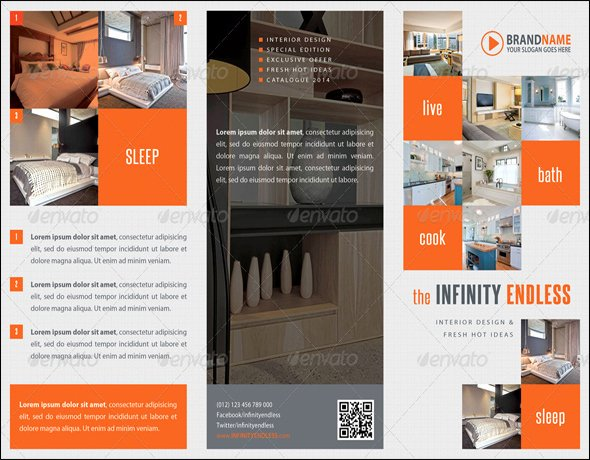 100 Realistic Corporate Brochure Template Designs