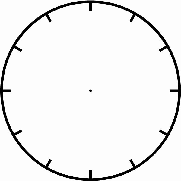1000 Ideas About Blank Clock On Pinterest