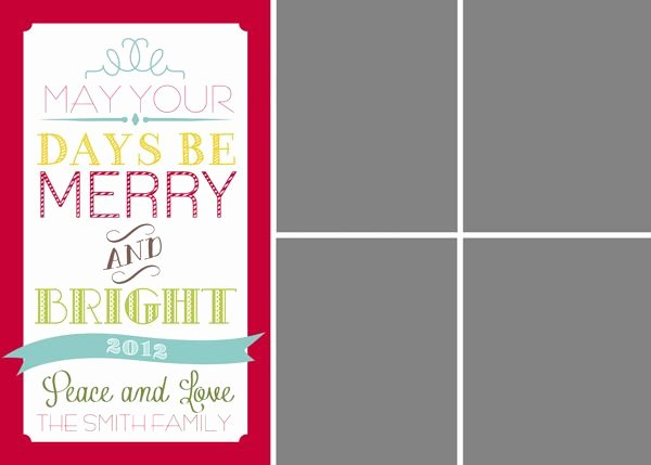 1000 Ideas About Christmas Card Templates On Pinterest