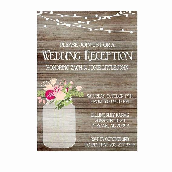 1000 Ideeën Over Wedding Reception Invitation Wording Op