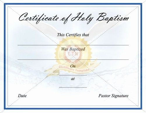 1000 Images About Baptism Certificate Template On