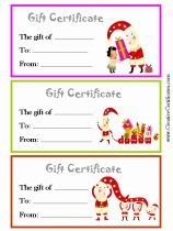 1000 Images About Gift Certificate On Pinterest