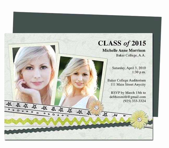 printable diy graduation announcements templates