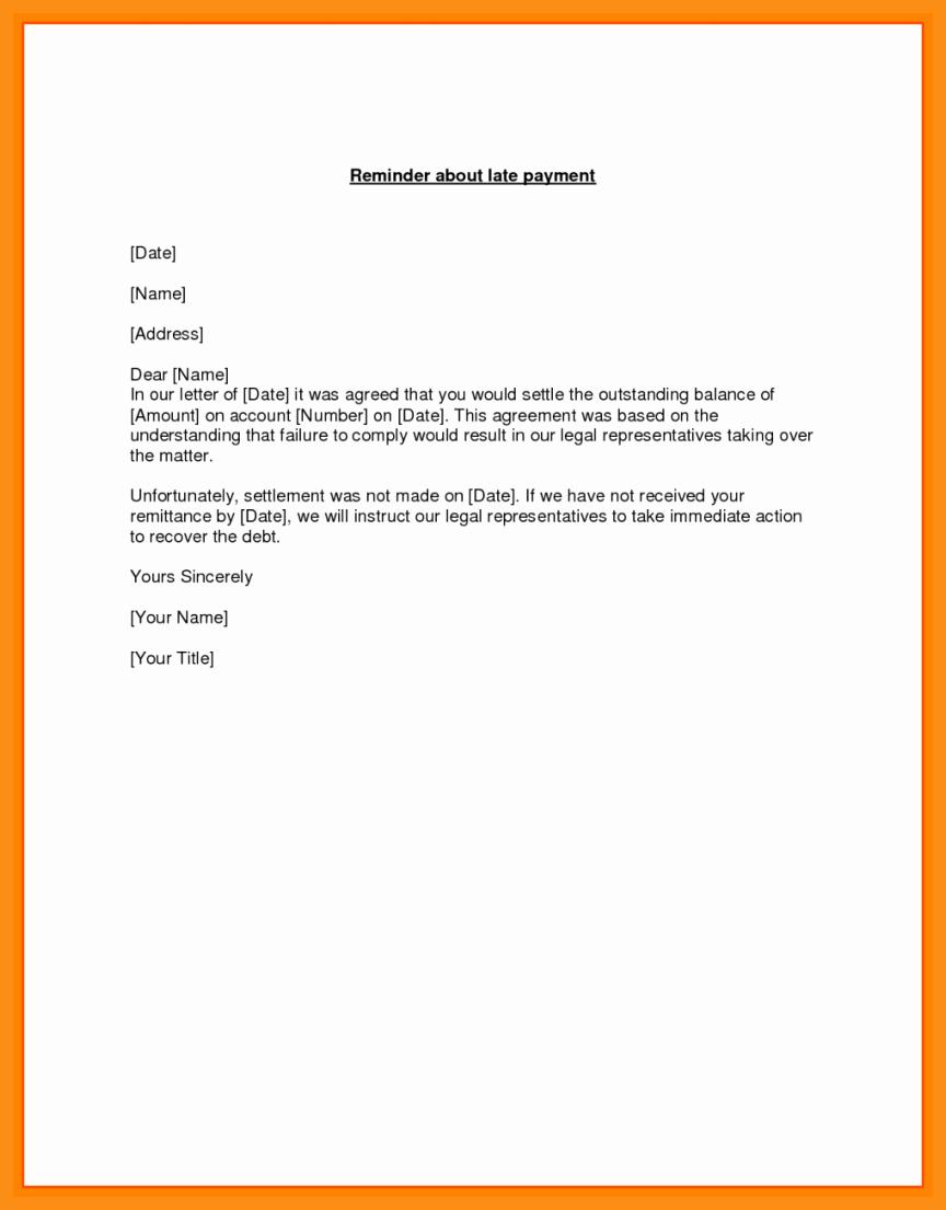 11 12 Remittance Letter Sample