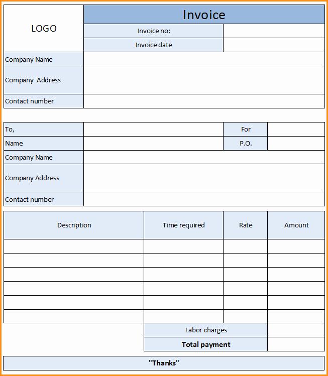 11 Auto Repair Invoice Template