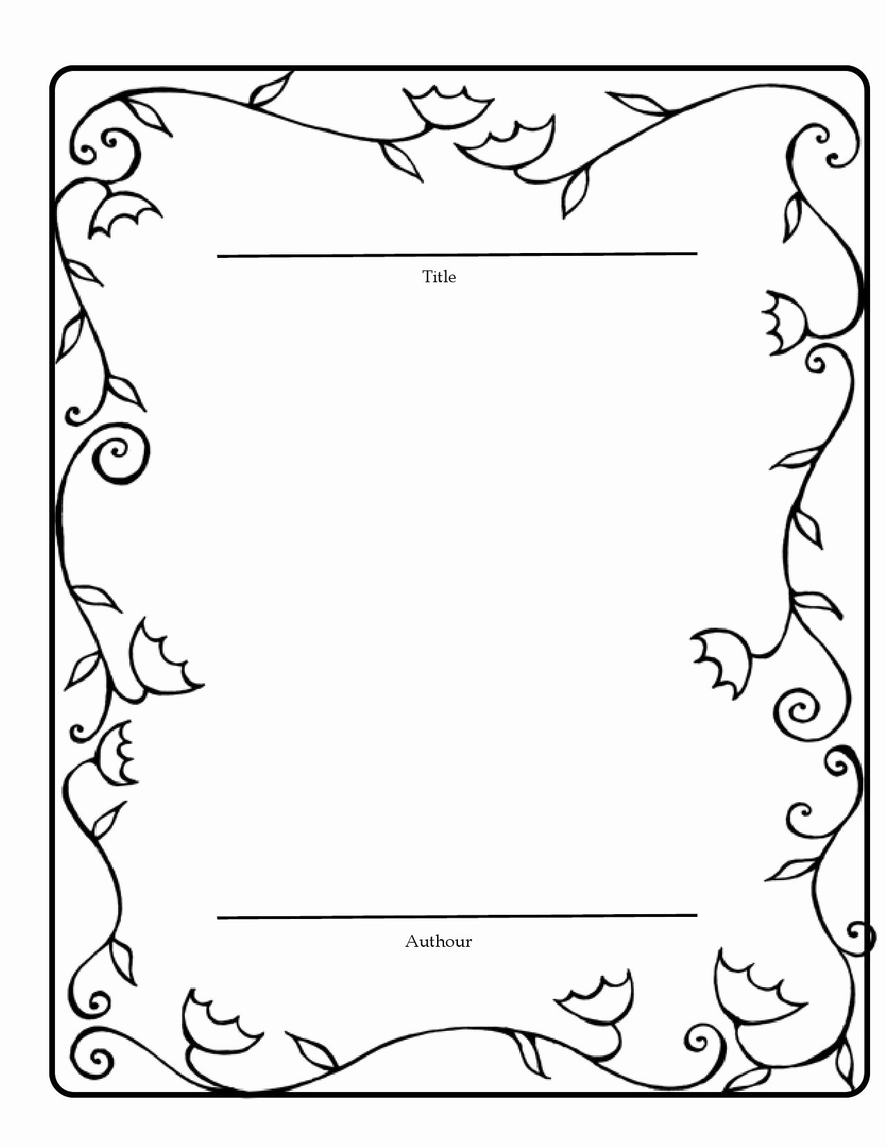 11 Best S Of Fairy Tale Book Layout Template Fairy