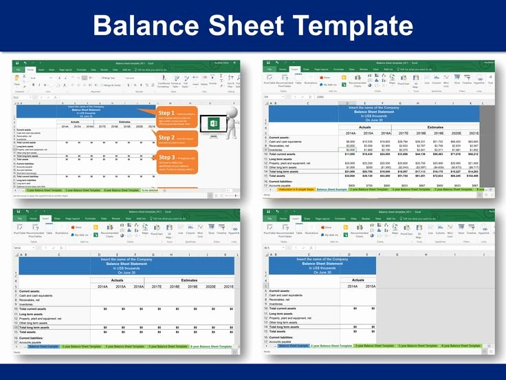11 Best Simple Balance Sheet Template