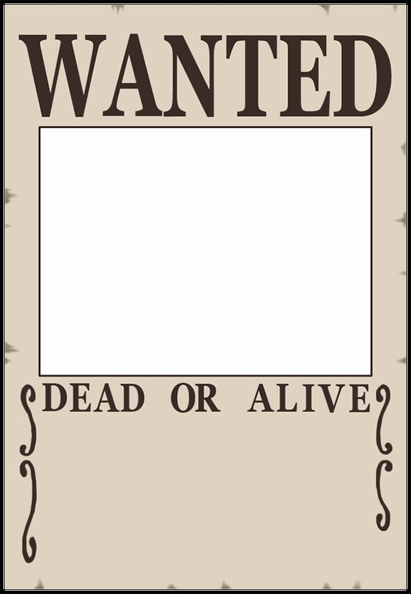 11 Blank Wanted Posters Free Printable Word Pdf Psd