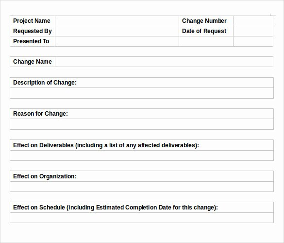 11 Change order Templates to Download