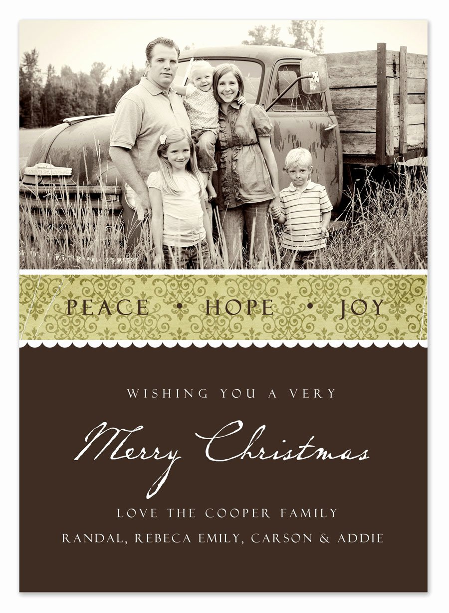 post christmas card templates free