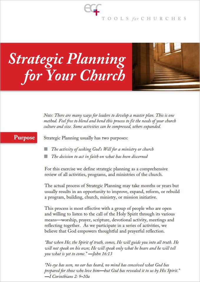 11 Church Strategic Plans Doc Pdf