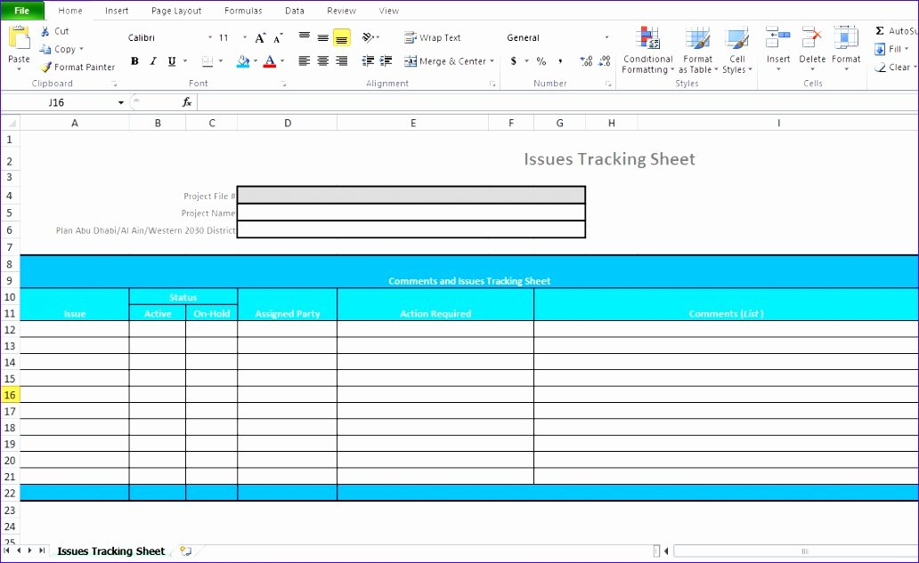 11 Excel Project Management Templates Free Download