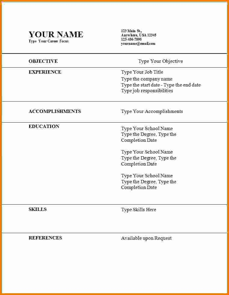 11 First Time Job Resume Examples