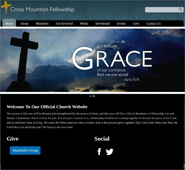 11 Free Church Website themes & Templates
