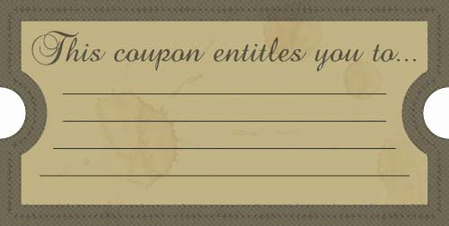 11 Free Coupon Templates Word Excel Pdf formats