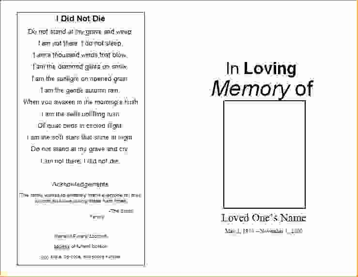 11 Funeral Invitation Templateagenda Template Sample