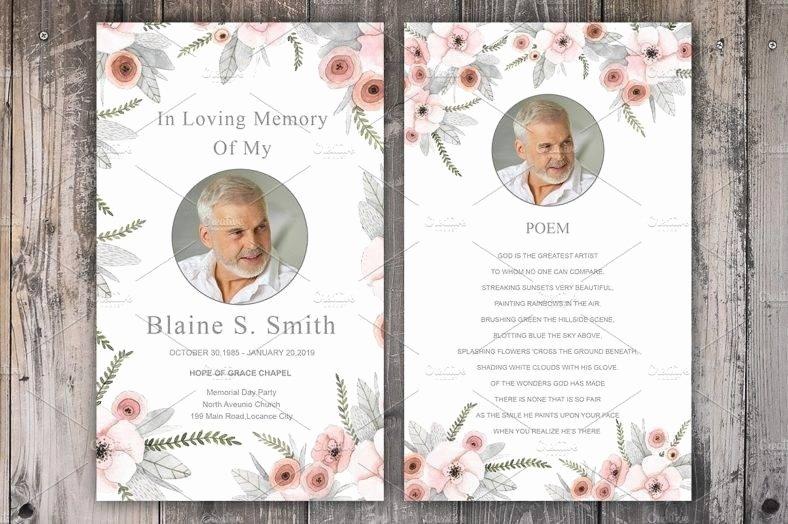 11 Funeral Memorial Card Designs & Templates Psd Ai