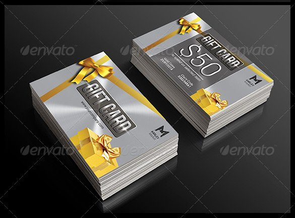 11 Gift Card Templates Doc Pdf Psd Eps