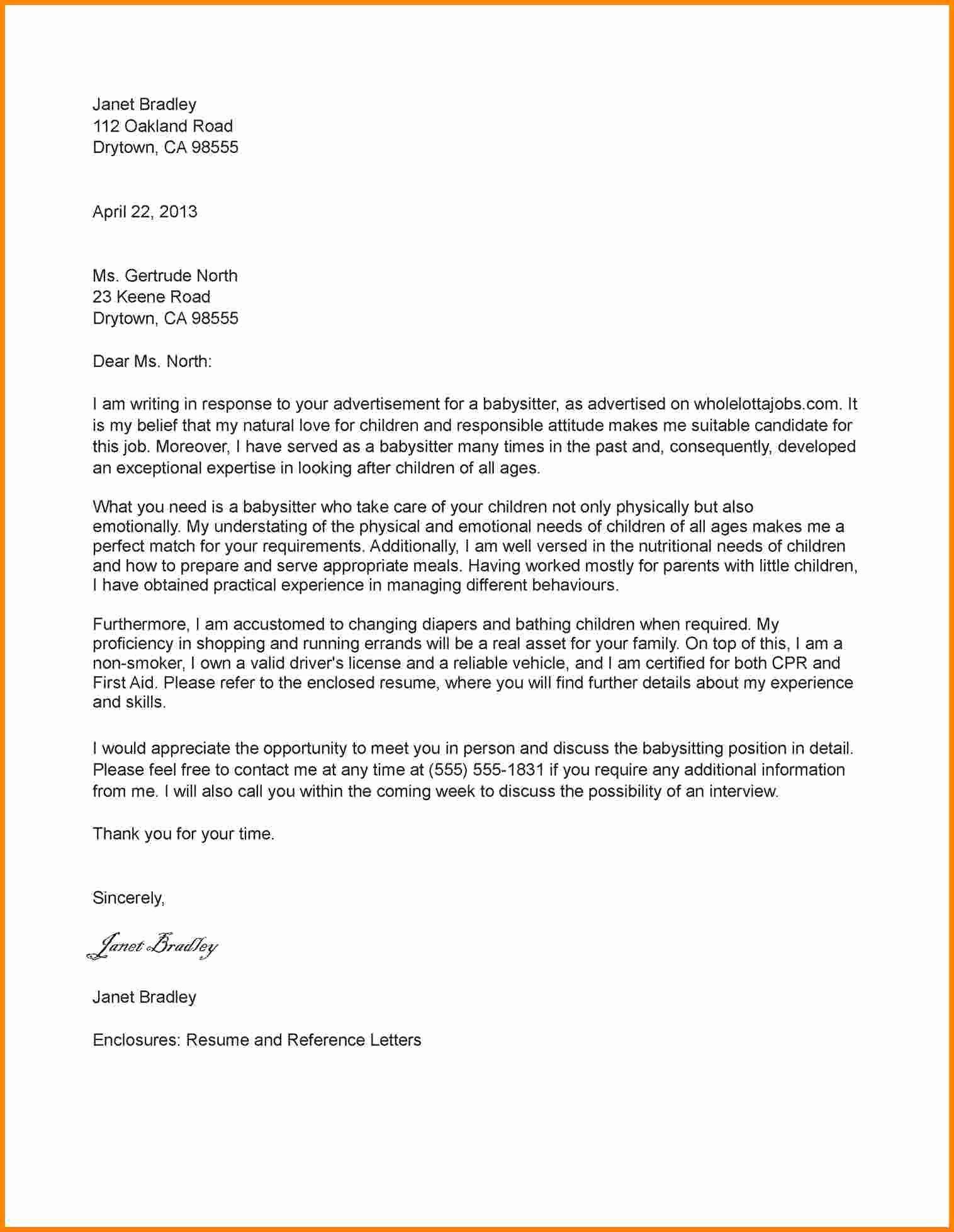 11 Job Application Letter Sample 2016
