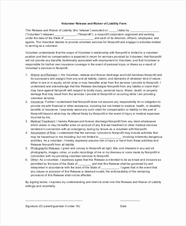 11 Liability Waiver form Templates Pdf Doc