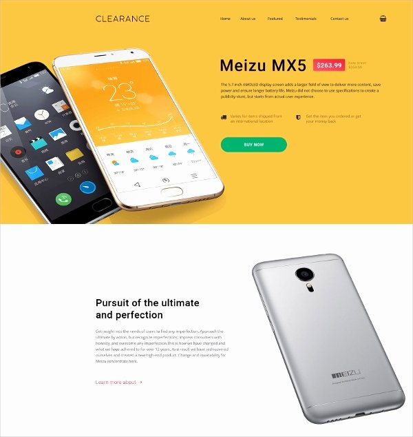 11 Mobile Landing Page themes & Templates