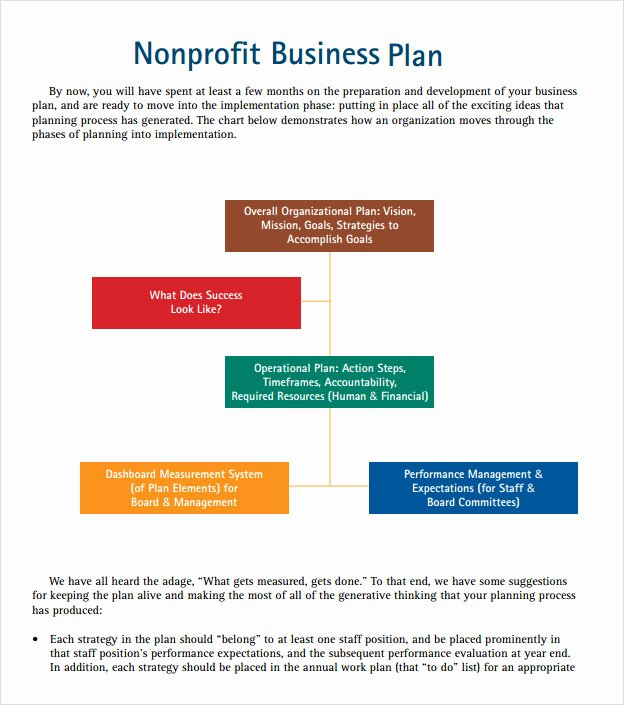 11 Non Profit Business Plan Samples