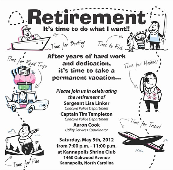 11 Retirement Party Flyer Templates to Download