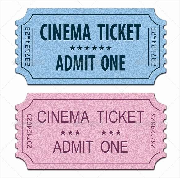 11 Sample Amazing Movie Ticket Templates to Download
