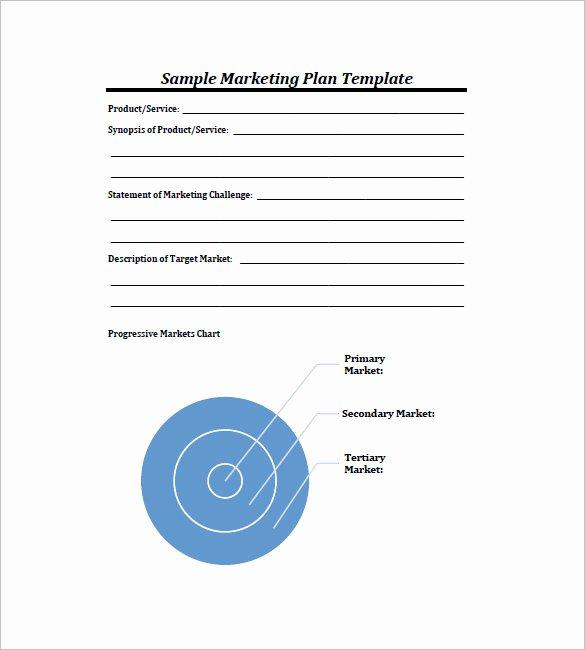 11 Simple Marketing Plan Template Free Sample Example