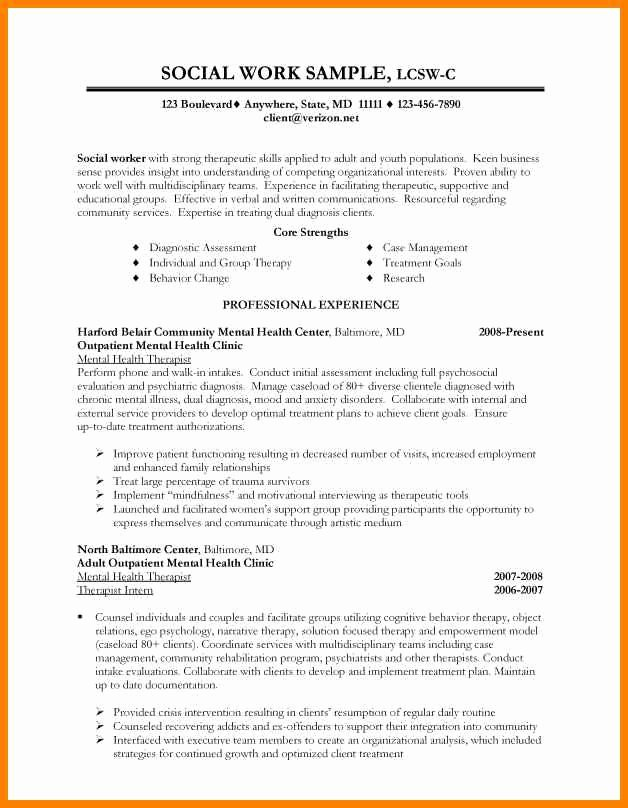 11 social work resume objective statements