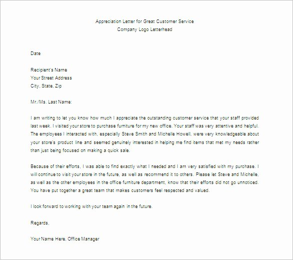 11 Thank You Letter for Appreciation Pdf Doc